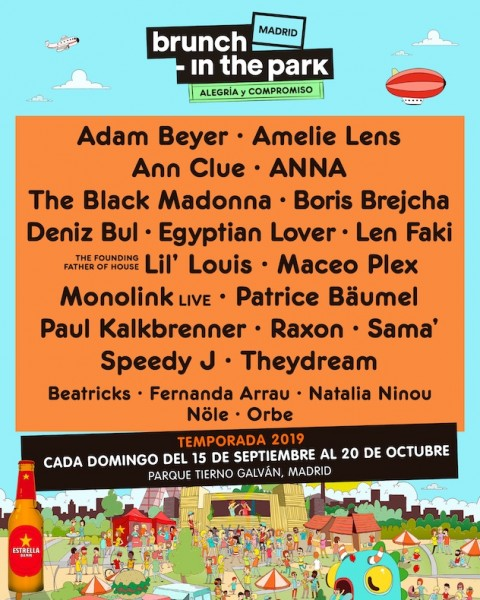 Brunch In The Park Autumn 2019 Season Lineup